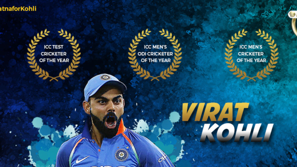 Virat Kohli: Shifting the Paradigm in Cricket. #BharatRatnaforKohli