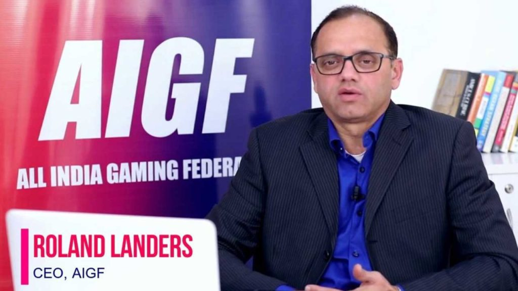 All India Gaming Federation CEO Roland Landers opens up on future of India's gaming industry